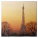 Europa, Francia, París. Torre Eiffel (medio Azulejo Cuadrado Grande