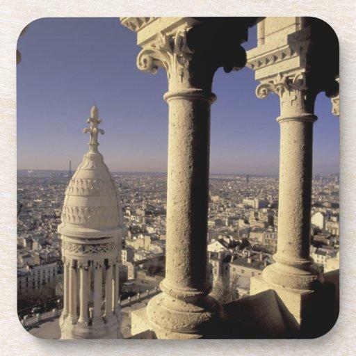Europa, Francia, París, vista de París a través Posavaso