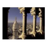 Europa, Francia, París, vista de París a través Tarjeta Postal