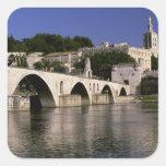 Europa, Francia, Provence, Aviñón. DES de Palais Pegatina Cuadrada
