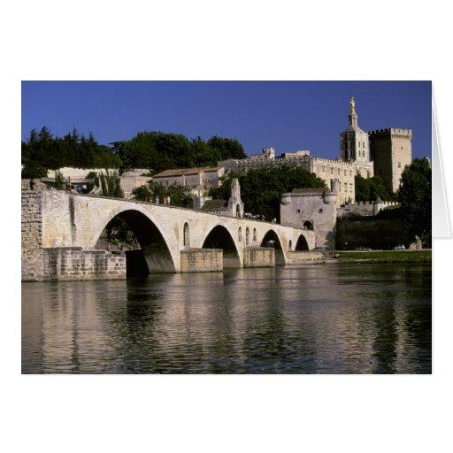 Europa, Francia, Provence, Aviñón. DES de Palais Felicitación