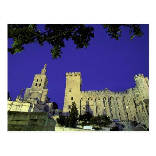 Europa, Francia, Provence, Aviñón. DES de Palais Tarjetas Postales