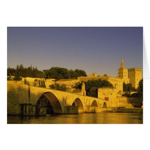 Europa, Francia, Provence, Aviñón. St de Pont, 2 Felicitación