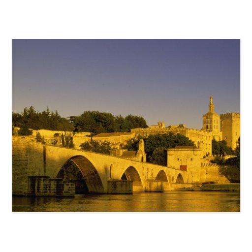 Europa, Francia, Provence, Aviñón. St de Pont, 2 Postal