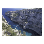 Europa, Francia, Provence, Calanques. Piedra caliz Cojinete