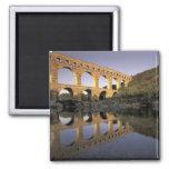 Europa, Francia, Provence, Gard; Pont du Gard, Imán De Nevera