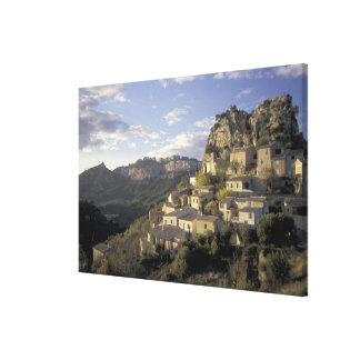 Europa, Francia, Provence, La Roque Alric, Impresiones En Lona Estiradas