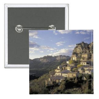 Europa, Francia, Provence, La Roque Alric, Pin Cuadrada 5 Cm