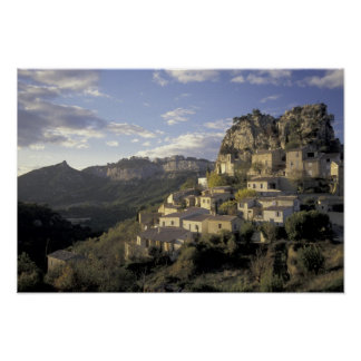 Europa, Francia, Provence, La Roque Alric, Póster