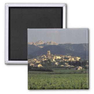 Europa, Francia, Provence, Vaucluse, SSablet, Imán Cuadrado