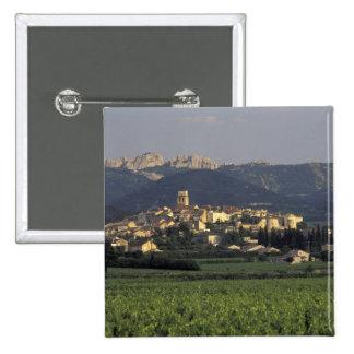 Europa, Francia, Provence, Vaucluse, SSablet, Pin Cuadrada 5 Cm