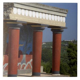 Europa, Grecia, Creta (aka Kriti), Heraklion Azulejo Cuadrado Grande