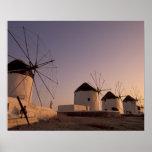 Europa, Grecia, islas de Cícladas, Mykonos, Posters