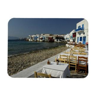 Europa, Grecia, Mykonos. Vistas de la playa Imán De Vinilo