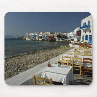 Europa, Grecia, Mykonos. Vistas de la playa Mousepads