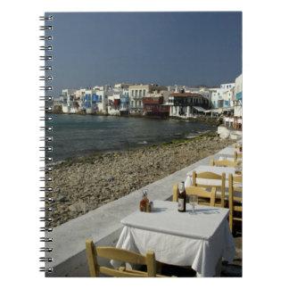 Europa, Grecia, Mykonos. Vistas de la playa Notebook