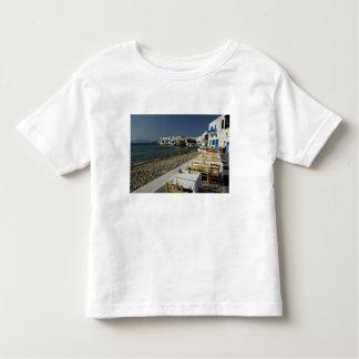 Europa, Grecia, Mykonos. Vistas de la playa Playera De Niño