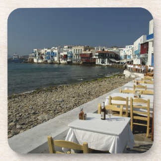 Europa, Grecia, Mykonos. Vistas de la playa Posavaso