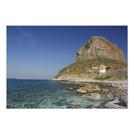 Europa, Grecia, Peloponeso, Monemvasia. Fotografía