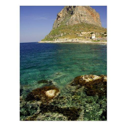 Europa, Grecia, Peloponeso, Monemvasia. Tarjetas Postales