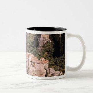 Europa, Grecia, Thessaly, Meteora, Kastraki. Taza De Café