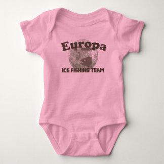 Europa Ice Fishing Team Baby Bodysuit