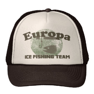 Europa Ice Fishing Team Trucker Hat