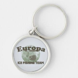 Europa Ice Fishing Team Keychain