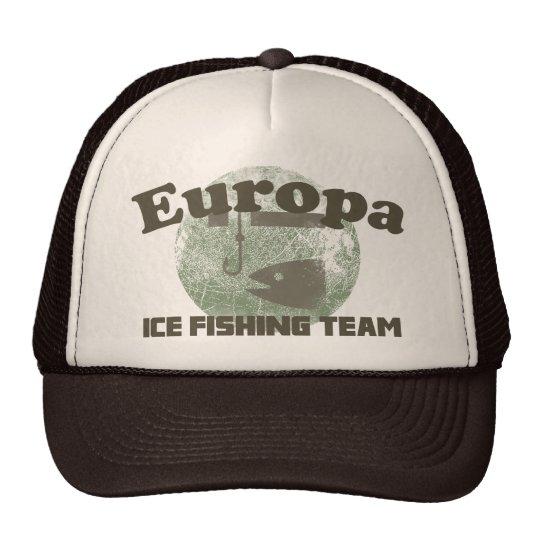 Europa Ice Fishing Team Trucker Hat