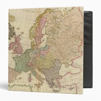 """Europa ilustró el mapa carpeta 1 1/2"""""""