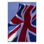Europa, Inglaterra, bandera británica Felicitacion