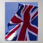 Europa, Inglaterra, bandera británica Impresiones