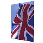 Europa, Inglaterra, bandera británica Impresión En Lona