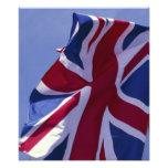 Europa, Inglaterra, bandera británica Arte Fotográfico