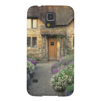 Europa, Inglaterra, Chippenham. Luz de la madrugad Funda Para Galaxy S5