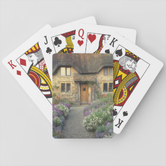 Europa, Inglaterra, Chippenham. Luz de la madrugad Baraja De Póquer