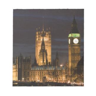 Europa, INGLATERRA, Londres: Casas del parlamento/ Blocs De Notas