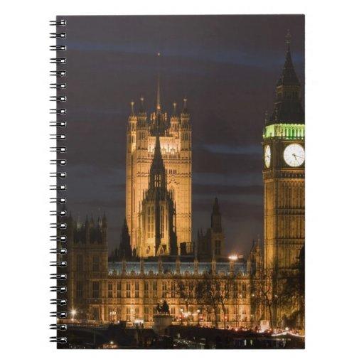 Europa, INGLATERRA, Londres: Casas del parlamento/ Libreta