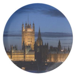 Europa, INGLATERRA, Londres: Casas del parlamento/ Plato