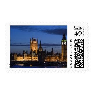 Europa, INGLATERRA, Londres: Casas del parlamento/ Sello Postal
