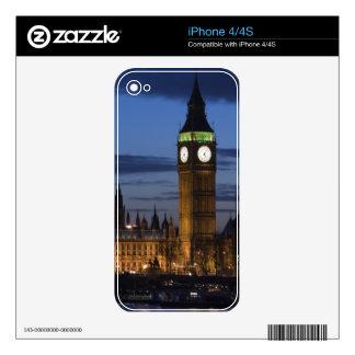 Europa, INGLATERRA, Londres: Casas del parlamento/ Skin Para El iPhone 4