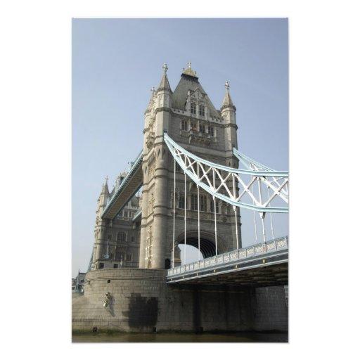 Europa, Inglaterra, Londres. Puente de la torre so Fotografía