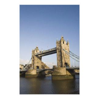 Europa, INGLATERRA, Londres: Puente de la torre/ta Fotografía