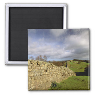 Europa, Inglaterra, Northumberland. Hadrian Imán Cuadrado