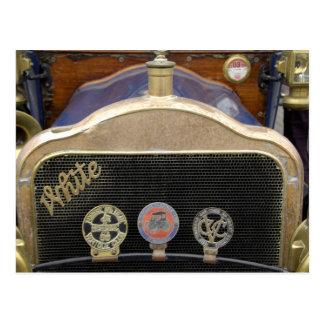 Europa, Irlanda, Dublín. Auto del vintage, blanco Postal