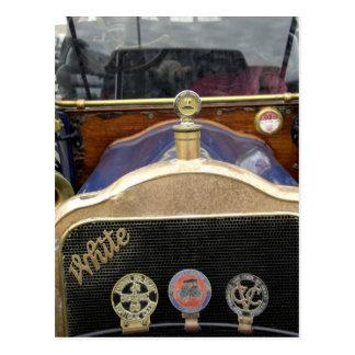 Europa, Irlanda, Dublín. Auto del vintage, blanco Tarjetas Postales