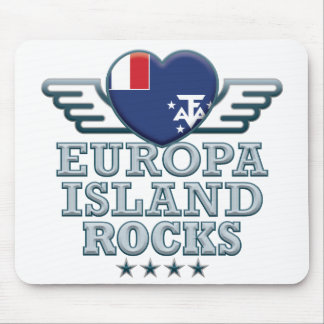Europa Island Rocks v2 Mouse Pad