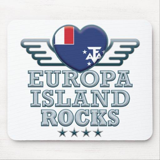 Europa Island Rocks v2 Mousemat