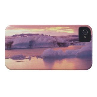 Europa, Islandia, laguna de Jokulsarlon iPhone 4 Cárcasas