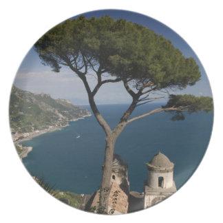 Europa, Italia, Campania, (costa de Amalfi), 2 Plato Para Fiesta